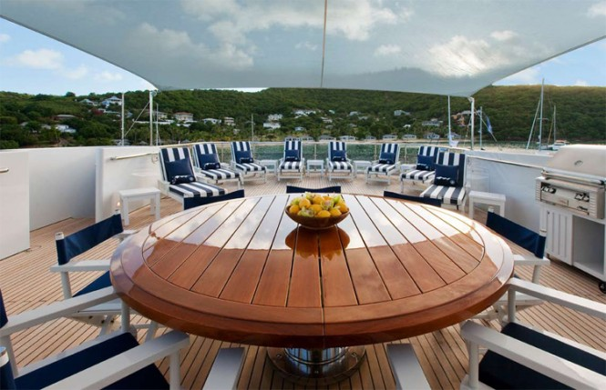 Diamond A -  Sundeck Aft